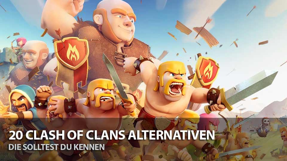 Clash of Clans Alternativen