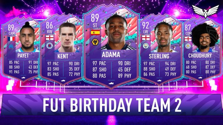 FUT-Birthday Team 2 ist Live - Fifa 21 Ultimate Team